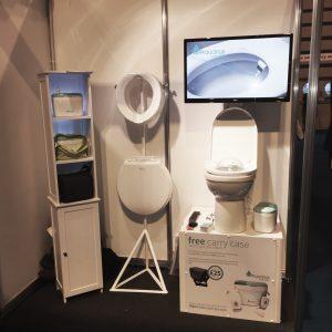 2014 OT Show Aquarius Porta-Bidet Stand